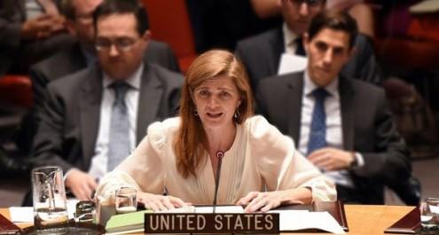 Samantha Power - embaixadora dos EUA nas Nações Unidas