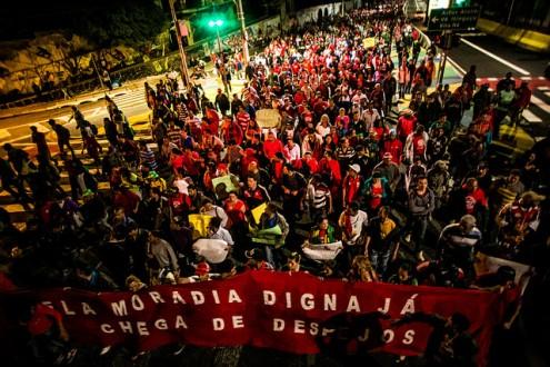 Pela Moradia Digna Já, Chega de Despejos - Foto Mídia Ninja
