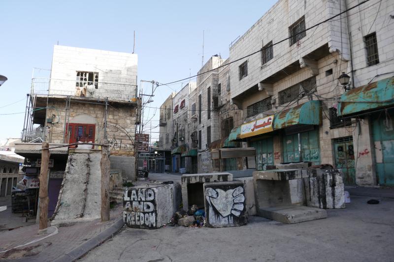 Hebron, lado ocupado por Israel