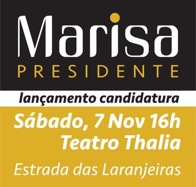 Recolha de assinaturas para a candidatura de Marisa Matias à Presidência da República