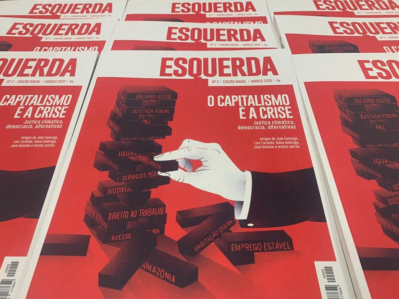 Revista Esquerda já chegou às bancas (e aos ecrãs) | Esquerda