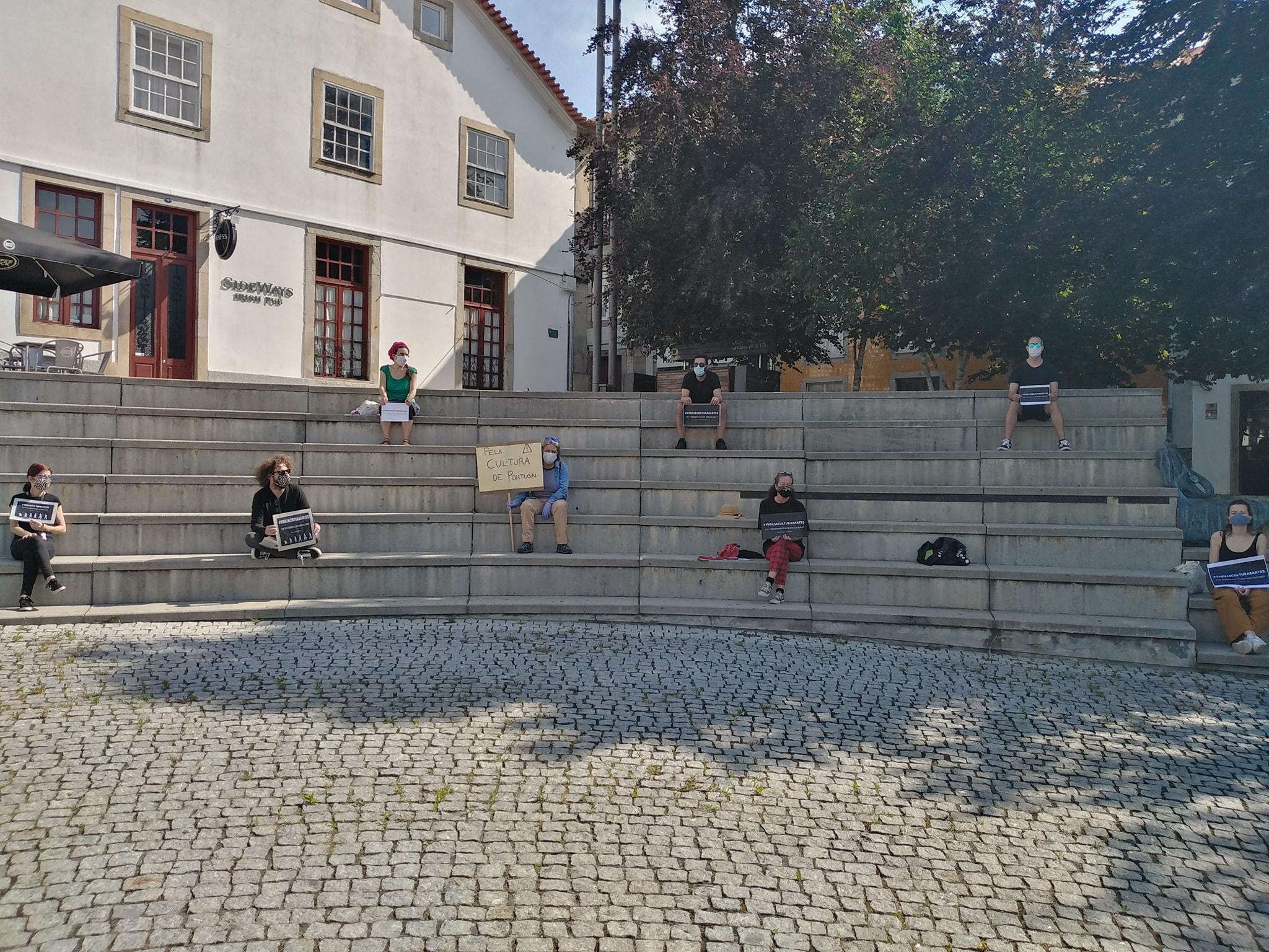 Vigília em Santa Maria da Feira