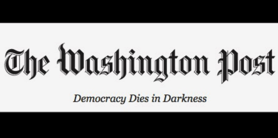 O slogan do Washington Post da era Bezos: A democracia morre na escuridão.