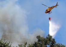 Piloto do helicóptero morre no combate aos incêndios. Foto de António José, Agência Lusa.