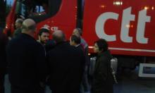 Motoristas dos CTT em greve