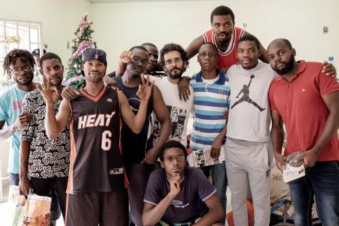 11 dos 17 ativistas angolanos que foram julgados.
