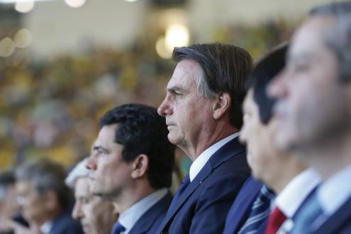 Bolsonaro nunca escondeu a sua hostilidade às políticas ambientais. Foto Lusa/EPA