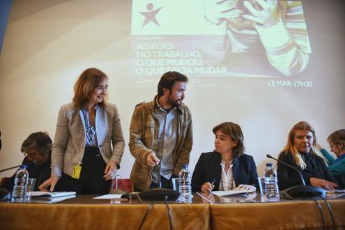 Audição pública sobre assédio no trabalho, 13 de Março. Foto de Paula Nunes.