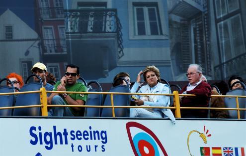 Turistas em Lisboa, 2006. Foto de Pedro Ribeiro Simões/Flickr.