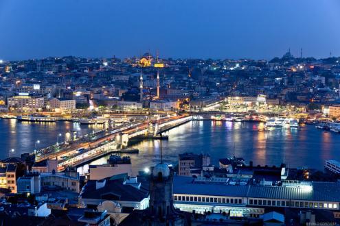 Centro de Istambul visto da torre Galata, 2018. Foto de Pablo Gonzalez/Flickr.
