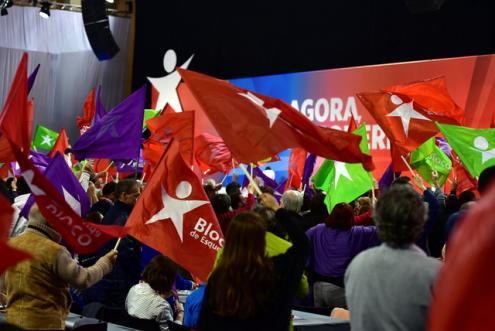 A lista do Bloco ao Parlamento Europeu é encabeçada por Marisa Matias - Foto de Paulete Matos