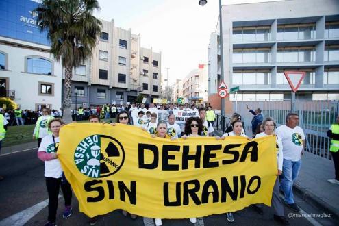 Foto de Manuel Meglez/Dehesa sin Uranio.