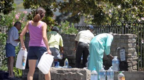 Seca deixa quatro milhões sem água na Cidade do Cabo