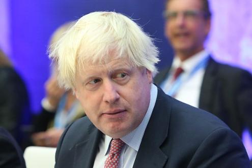 O ministro dos Negócios Estrangeiros do Reino Unido, Boris Johnson, demitiu-se - foto wikimedia