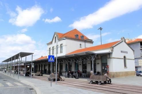 Estação de caminho de ferro de Bragança – Foto de M.Peinado/flickr