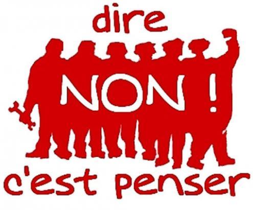 """""""Dizer Não É Pensar"""" - frase de Alain, Émile-Auguste Chartier (1868-1951), tornou-se simbólica em 1968"""