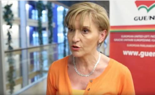 Martina Anderson, eurodeputada do Sinn Fein, estará no Fórum Socialismo 2018, nesta sexta-feira