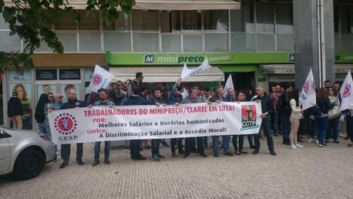 Trabalhadora/es do Minipreço lutam por aumentos salariais, pelo fim da discriminação salarial e contra o assédio moral