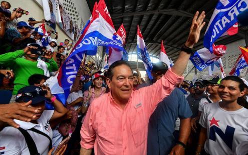 Laurentino Cortizo, candidato do PRD de centro-esquerda, venceu as eleições presidenciais realizadas no Panamá