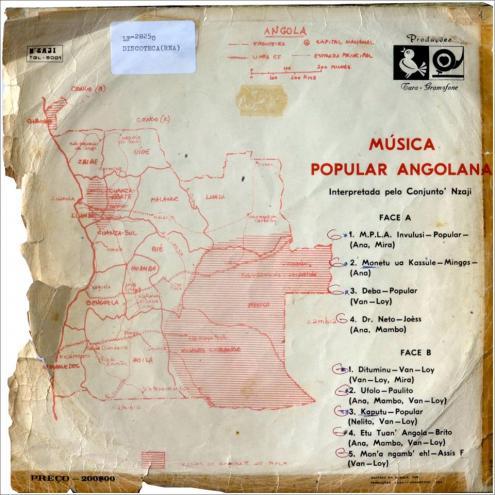 Fotografia de Alexandre Nobre. Arquivo da Rádio Nacional de Angola. Para o documentário Dipanda'75.
