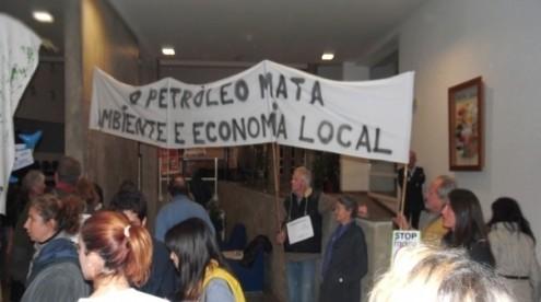 Petição da Plataforma Algarve Livre de Petróleo foi debatida no parlamento nesta quarta-feira