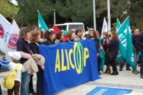 Ex-trabalhadores do grupo Alicoop admitem voltar a manifestar-se em Lisboa, tal como fizeram em 2008/2010