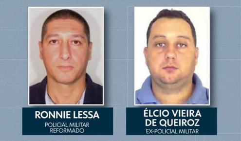 Ronnie Lessa disparou e Élcio Queiroz conduziu o carro.