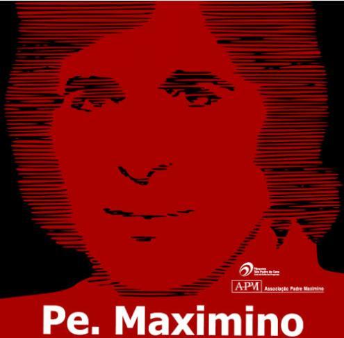 Cartaz da Associação Padre Maximino