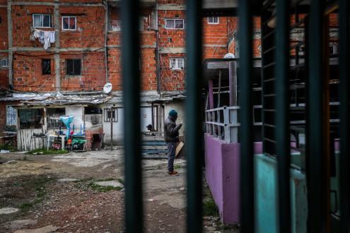 Bairro da Jamaica, Seixal, 23 de janeiro de 2019 – Foto de Mário Cruz/Lusa
