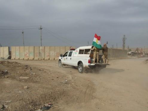 Bashiqa, 15 novembro 2016 - Foto de José Manuel Rosendo