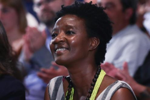 Beatriz Gomes Dias, deputada do Bloco de Esquerda - Foto de António Cotrim/Lusa