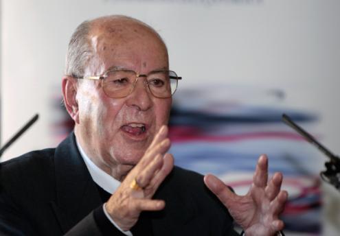 Manuel Martins, bispo emérito de Setúbal, 10 de dezembro de 2008 – Foto de Manuel de Almeida/Lusa (arquivo)