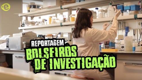 Reportagem sobre os bolseiros de investigação