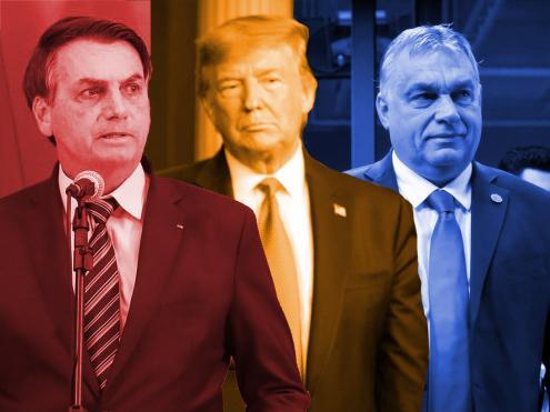 Bolsonaro, Trump e Orbán