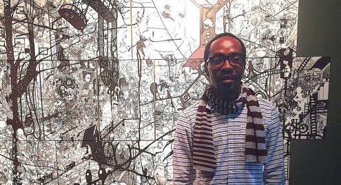 Ramón Esono Ebalé, artista preso na Guiné Equatorial
