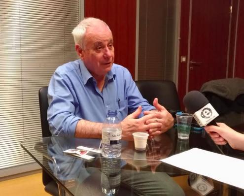 Entrevista feita no ISCTE, Lisboa, no dia 9 de Maio de 2018.