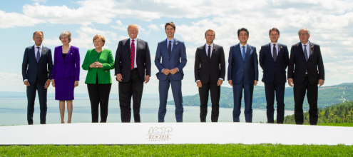 Fotografia: Twitter/G7