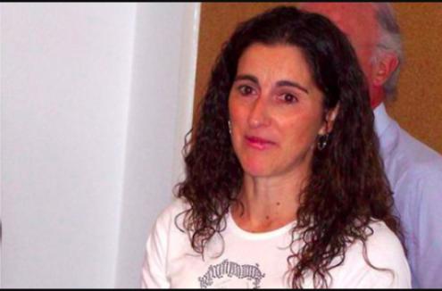Cristina Tavares, trabalhadora corticeira vítima de perseguição patronal. Fotografia de CGTP-IN