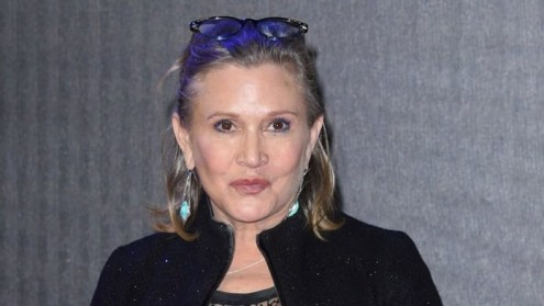 "Carrie Fisher foi critica do chamado ""star system"" de Hollywood e de uma visão masculina do cinema. Foto do Observatório do Cinema"