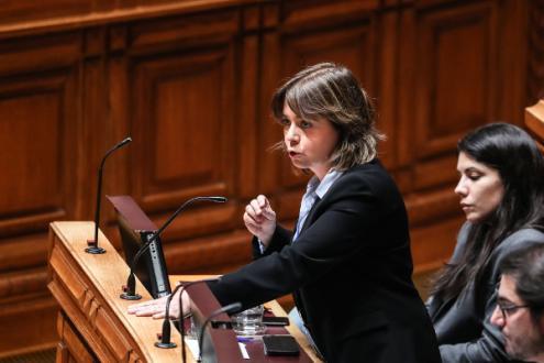 Catarina Martin - Foto de Mário Cruz/Lusa