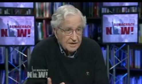 Noam Chomsky no Democracy Now.