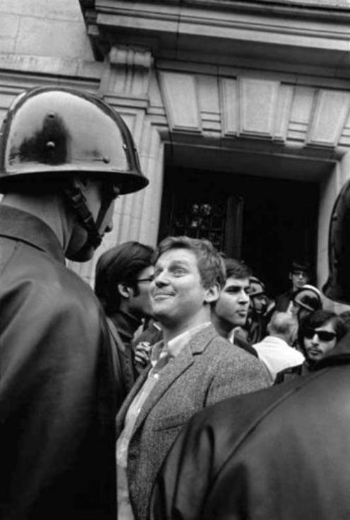 Daniel Cohn-Bendit em 3 de maio de 1968