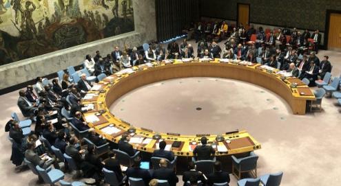 No Conselho de Segurança das Nações Unidas a resolução proposta pelos EUA sobre a Venezuela foi vetada por Rússia e China e a proposta da Rússia não foi aprovada