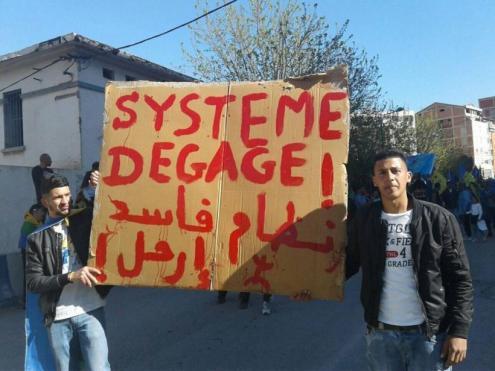 """""""Fora o sistema"""" é o lema das mobilizações"""