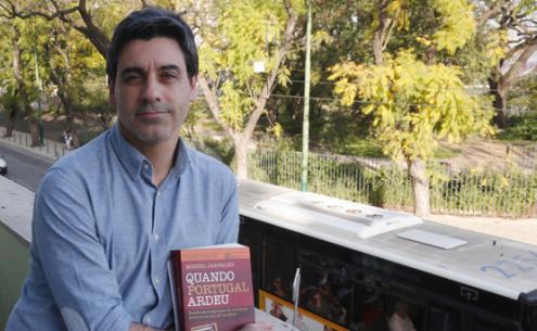 """Miguel Carvalho e o seu livro """"Quando Portugal ardeu"""""""
