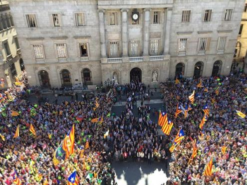 Separatistas manifestam-se esta segunda-feira no Dia da Catalunha