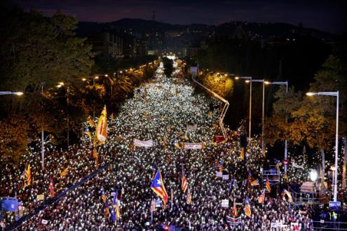 Rajoy faz primeira visita a Barcelona desde intervenção na Catalunha