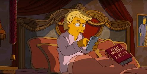 Donald Trump na série Simpsons