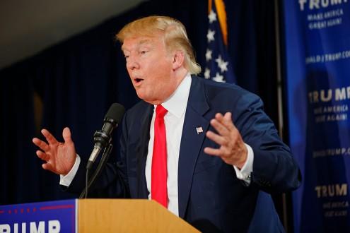 Donald Trump - foto wikimedia (Michael Vadon, 16 de Julho de 2015)