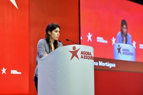 Mariana Mortágua apresentou as propostas do Bloco para o OE 2019 - Foto de Paulete Matos